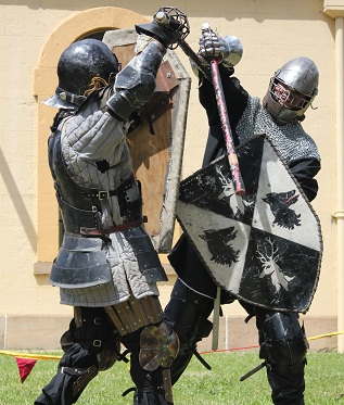 2013 Traditional Crafts Weekend - Combat